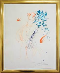 Salvador DALI - Print-Multiple - Estades de la Vida - Jugend