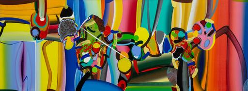 Bose KRISHNAMACHARI - Gemälde - STRETCHED BODIES