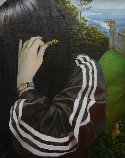 Anna SELINA - Pittura - Three Strips