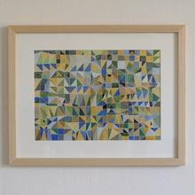 Jérémie IORDANOFF - Disegno Acquarello - Fenêtre jaune