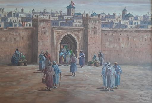 Habibi SIDI - Pintura - Sans titre