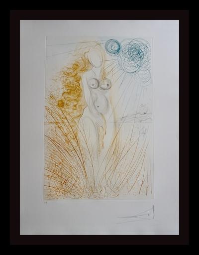 Salvador DALI - Stampa-Multiplo - Hommage a Albrecht Durer Birth of Venus