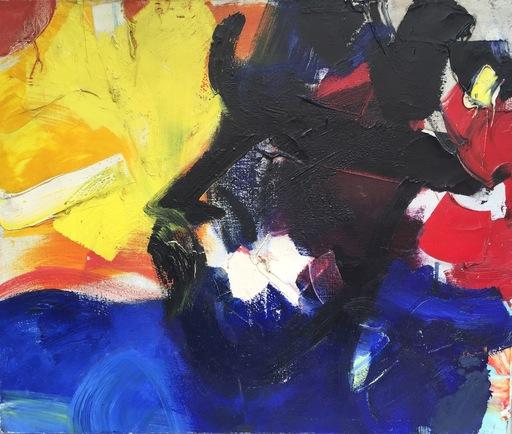 Jean MIOTTE - Painting - Mouvement d'amitié