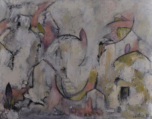 Réjane DE TASSIGNY - Painting - Le passé simple