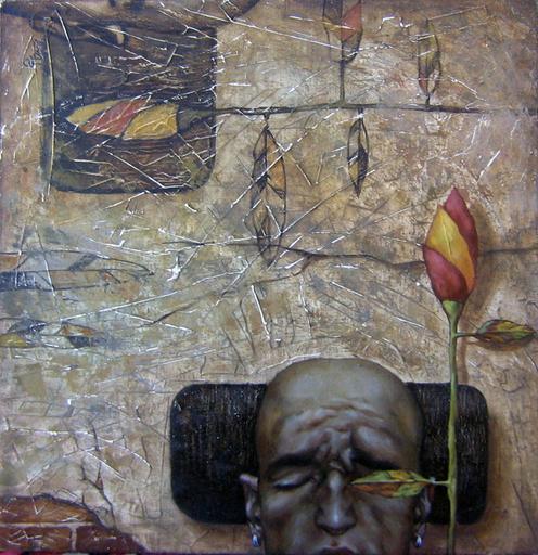 Maxim ORLITSKIY - Gemälde - Thoughts in emptiness