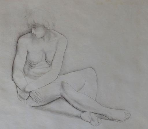 Moïse KISLING - Print-Multiple - Seated Nude / Nu Assis