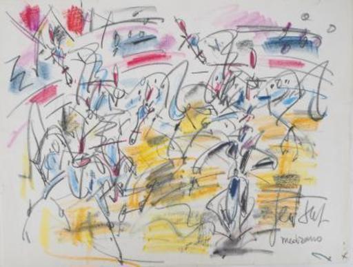 GEN PAUL - Disegno Acquarello - The Medrano Circus