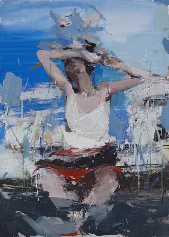 Vladimir SEMENSKIY - Painting - She Is the One