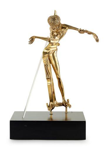 Salvador DALI - Escultura - Femme a la tete de rose