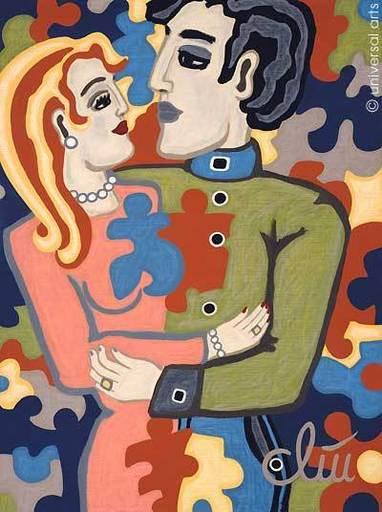 Jacqueline DITT - Peinture - Life is a Puzzle