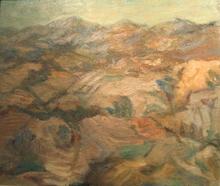 Bruno CASSINARI - Painting - La collina, 1946