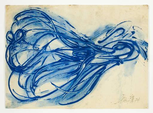 Toshimitsu IMAI - Pittura - Bleu
