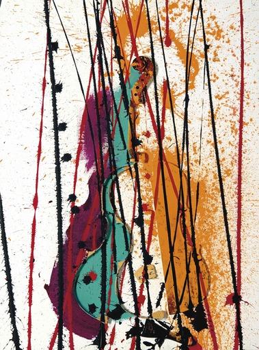 Fernandez ARMAN - Painting - Colère de Violon