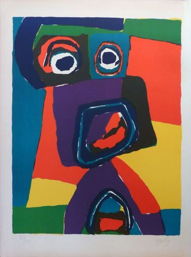 Karel APPEL - Estampe-Multiple - Sans titre