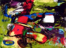 Lia GALLETTI - Painting - BOLADEHUMO