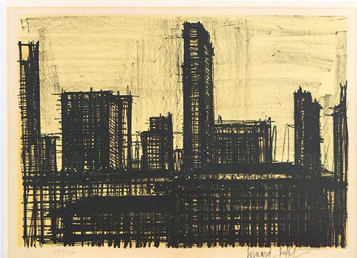 Bernard BUFFET - Druckgrafik-Multiple - New York X