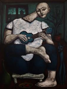 Nicolas MONJO - Painting - le maquis