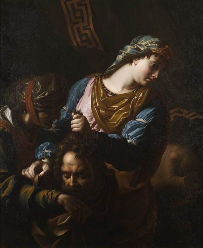 Antoine RIVALZ - Painting - Judith and Holopherne
