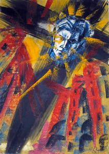 Mikhail KOULAKOV - Pintura - Mayakovsky