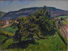 René SEYSSAUD - Painting - Paysage, période fauve 1906