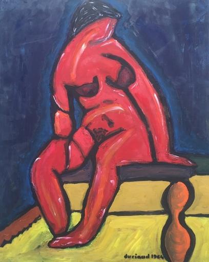 Christian DURIAUD - Pintura - Nu rouge