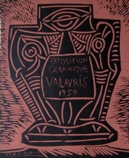 Pablo PICASSO - Stampa-Multiplo - Exposition Ceramique Vallauris 1959