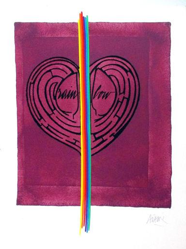 Valerio ADAMI - Print-Multiple - love