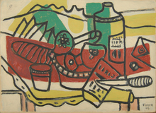 Fernand LÉGER (1881-1955) - Le Pain et le Vin
