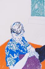 David HOCKNEY - Print-Multiple - Joe with Green Window
