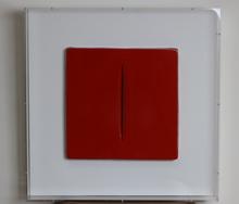 Lucio FONTANA - Peinture - Concetto spaziale