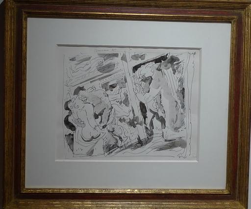安德烈•马松 - 水彩作品