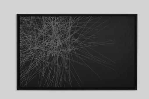 Max COPPETA - Painting - Fluxus Black