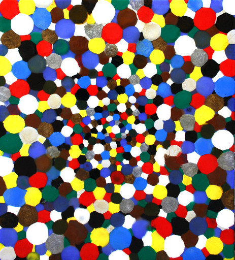 Davide NIDO - Pintura - Coriandoli in blu