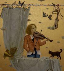 Tatjana PALCUKA - Painting - First Violin    (Cat N° 6085)