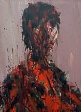Max UHLIG - Painting - Bildnis J.P.