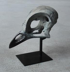Quentin GAREL - Escultura - Petit crâne d'oiseau