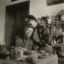Emmy Lou PACKARD - Photography - Frida Kahlo and Diego Rivera