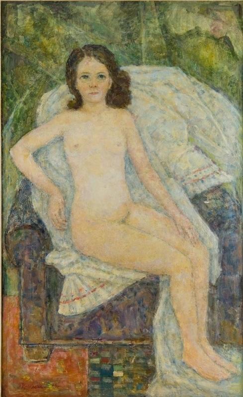 Arkady Iakovlievitch KRIMSKY - Painting - Youth / Portait of a man