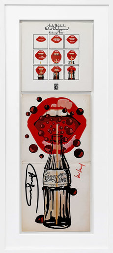 Andy WARHOL - Print-Multiple - Lips and Coke - Velvet Underground & Nico
