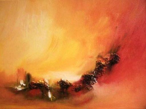 ANVAL - Painting - Etats d'Ame