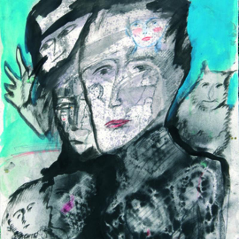 Zvi MILSHTEIN - Painting - De sortie