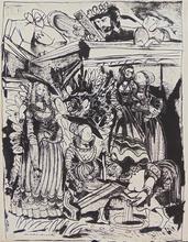 Pablo PICASSO - Print-Multiple - David and Bathsheba (After Lucas Cranach) II