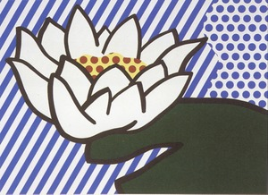 Roy LICHTENSTEIN, Water Lily