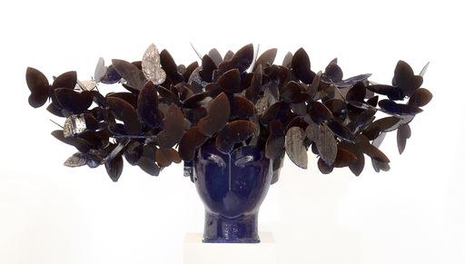Manolo VALDÉS - Escultura - Mariposas Azules