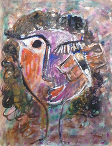 Bernard GERBAL - Gemälde - LA LECTURE