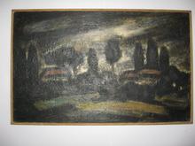Alfred ANGELETTI - Pittura - COLLINE DE NICE