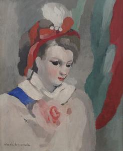 Marie LAURENCIN - Pintura - Favorite