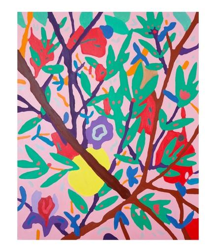 Sébastien COUEFFIC - Peinture - le jardin galant n°1
