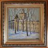Valeriy NESTEROV - Painting - Andronikov Monastery. Moscow