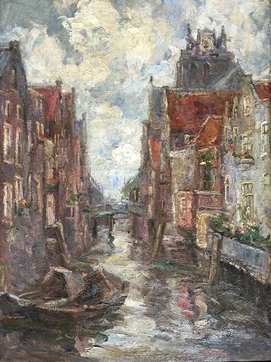 Anna DE BARSY - Painting - Canal